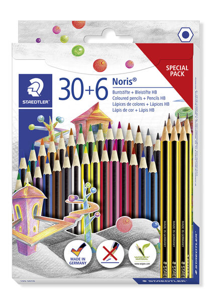 Set de lápices Staedtler Noris Special Pack 36U