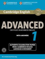 CUP Advanced 1/SB+k+CD(2) Cambridge 9781107654969