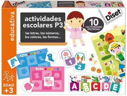 Juego didáctico Diset Actividades escolares P3