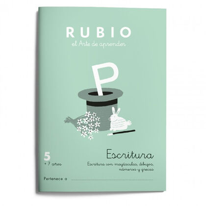 RUBIO E Escritura 05/21 9788417427566