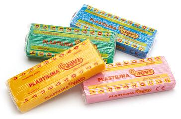 PLASTILINA 150gr.15 PASTILLAS COLORES