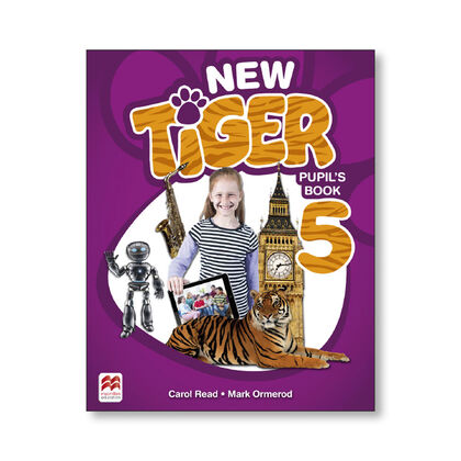 NEW TIGER 5. PUPIL'S PACK Macmillan-Text 9781380011152