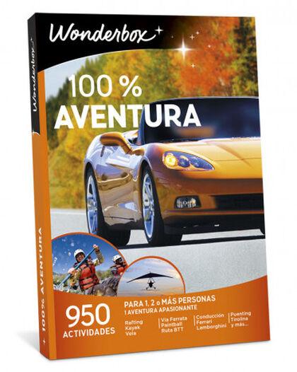 Pack de experiencia Wonderbox 100% Aventura 2017-2018