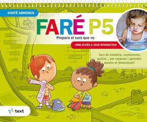QUADERN D'ESTIU FARÉ P5 Text 9788441233430