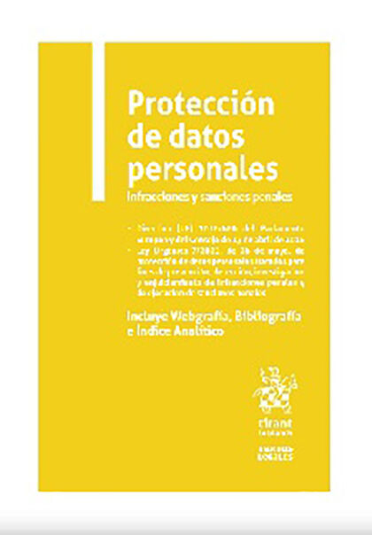 Protección de datos personales Infraccio
