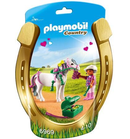 Figuras Playmobil Country Genet en poni