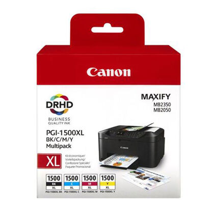 Cartucho Canon Original PGI1500XL multipack