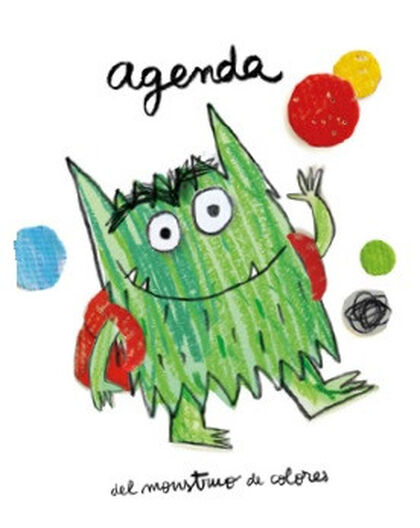 Agenda del Monstruo de colores