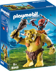 Playmobil Knights Enanos gigante con mochila
