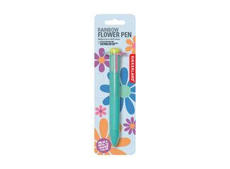 Bolígrafo Kikkerland Multicolor Flor