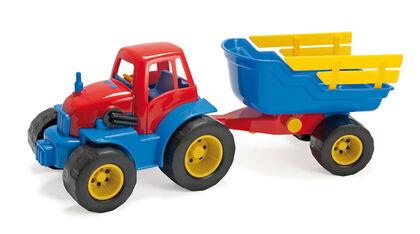 Vehículo Dantoy Tractor con remolque