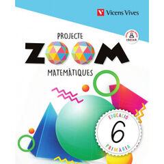 Matemàtiques/Zoom PRIMÀRIA 6 Vicens Vives 9788468262680