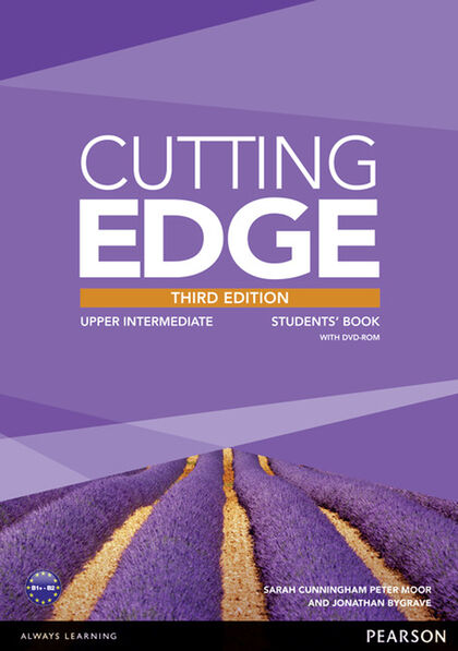 CUTTING EDGE UPPER INTERMEDIATE THIRD EDITION STUDENT'S BOOK+DVD+MEL Pearson 9781447944065