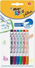 Rotulador Pizarra Velleda Bic Kids - 6 colores