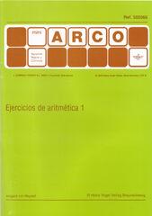 MINI ARCO Ejercicios de aritmética 1 9788492490455