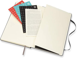 Agenda Moleskine  Cuaderno Semana Vistal L Semana Vista Inglés Negro (13x21 cm)