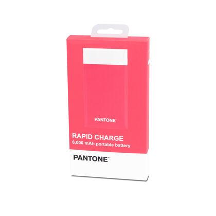 Batería portátil Pantone 6000 MaH Rosa