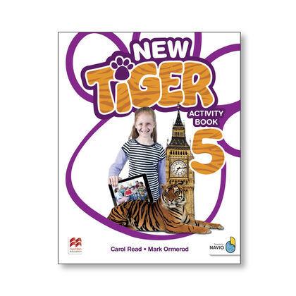 NEW TIGER 5. ACTIVITY BOOK Macmillan-Text 9781380011275