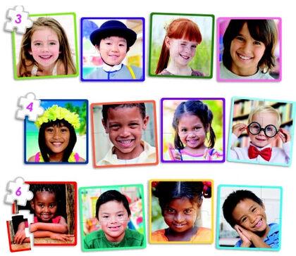 Puzzles Akros Niños del mundo