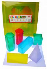 Formas geométricas Translúcidas 3D Henbea