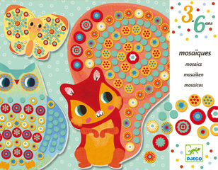 Manualidades Djeco Collages Mosaico Miliflori