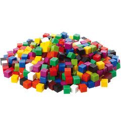 Cubos de colores de 1cm - 1000U