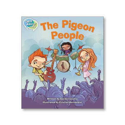 TA L12 THE PIGEON PEOPLE Macmillan 9781420240528