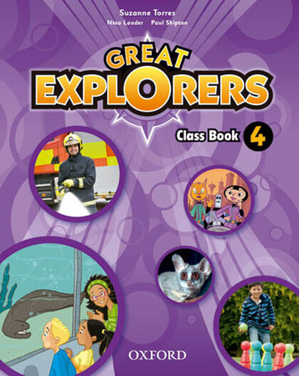 OUP E4 Great Explorers/CB pack Oxford 9780194507684