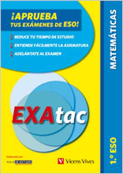 EXATAC MATEMÁTICAS 1º ESO Vicens Vives- 9788431695927