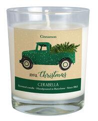 Vela Navidad Canela Verde
