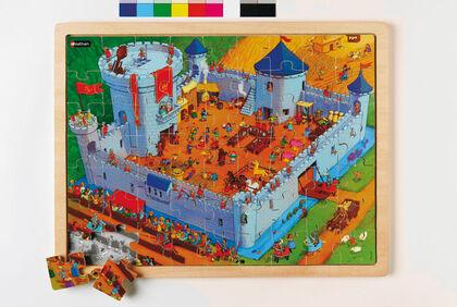 Puzzle Nathan La vida en el castillo