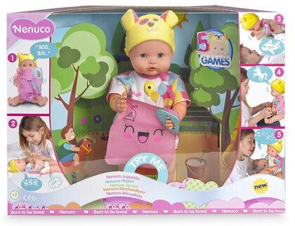 Nino interactivo Nenuco juguetona