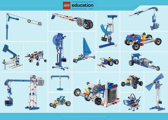LEGO Màquines simples motoritzades (9686)