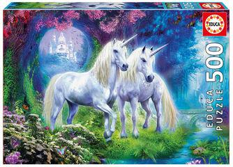 Puzzle Educa Puzzle unicornios en el bosque