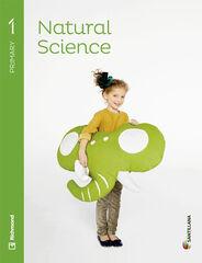 Natural Science/SB PRIMÀRIA 1 Santillana Text 9788468086569