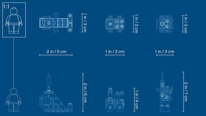 LEGO Duplo Classic Totxos Creatius Blaus (11006)