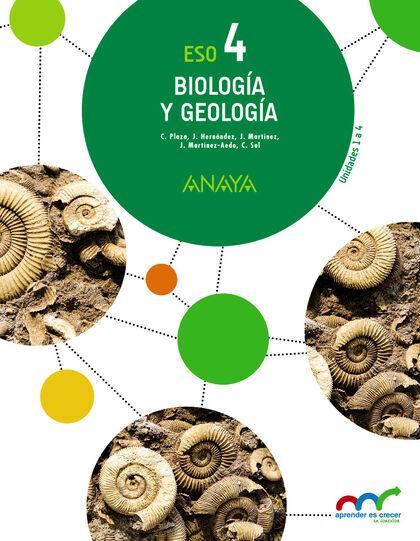 Biología y geología/16 ESO 4 Anaya Text 9788469810750