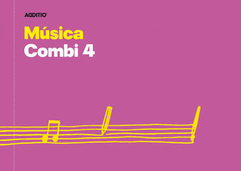 Cuaderno de musica Additio Música combi