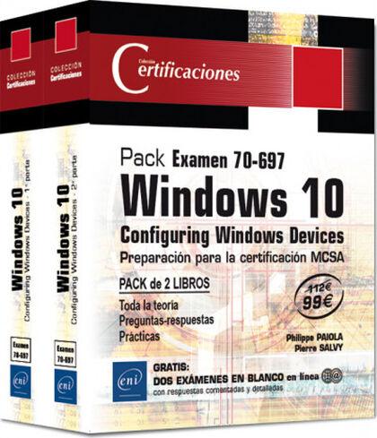 Pack Examen 7-697 - Windows 1 - Configuring Windows Devices -Preparación para la certificación MCSA