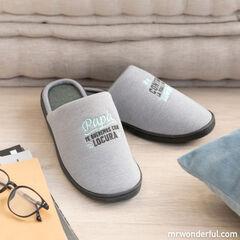 Zapatillas de casaMr.WonderfulPapá, téqueremos44-47