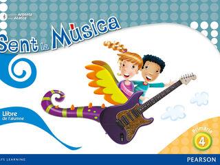 SENT LA MÚSICA ALUMNE 4t PRIMÀRIA Pearson 9788420559537