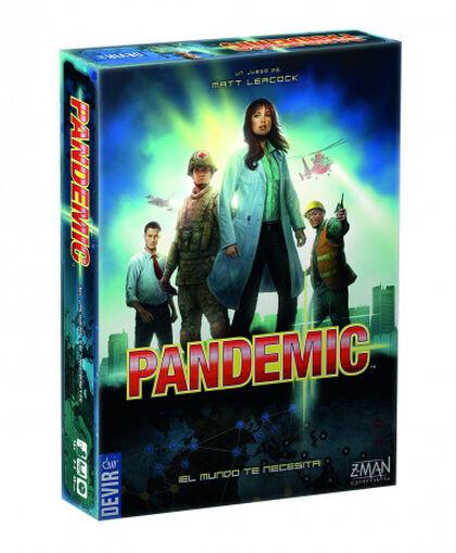 Juego cooperativo Asmodee Pandemic