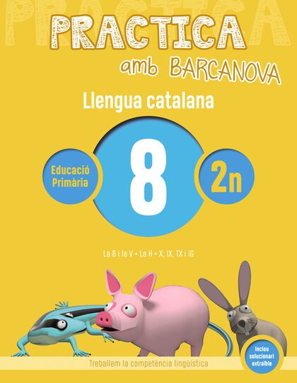 Pràctica amb Barcanova 8. Llengua Catalana Barcanova Quaderns 9788448945091