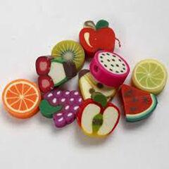 Cuentas y abalorios Creative Frutas 200U