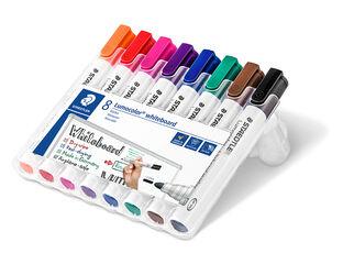 Rotulador Pizarra Staedtler Lumocolor 351 8 colores