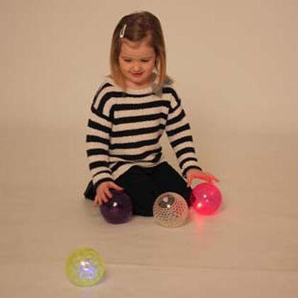 Bolas Thick Educational Luz sensoriales texturas 4U