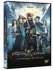 PIRATAS DEL CARIBE.VENGANZA.SALAZAR DVD