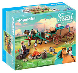Playmobil Spirit Padre Lucky y Carruaje