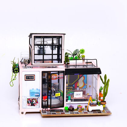 Maqueta Rolife Mini House DIY - Kevin'S Studio