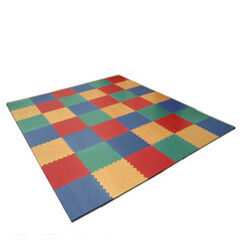 Suelo de puzzle Pavi Play Multi Esquina 600x600x11 mm Verde